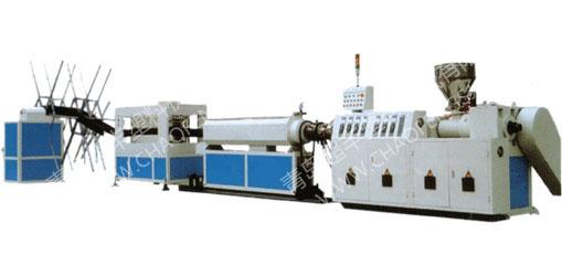 PE碳素螺旋增强管材生产线